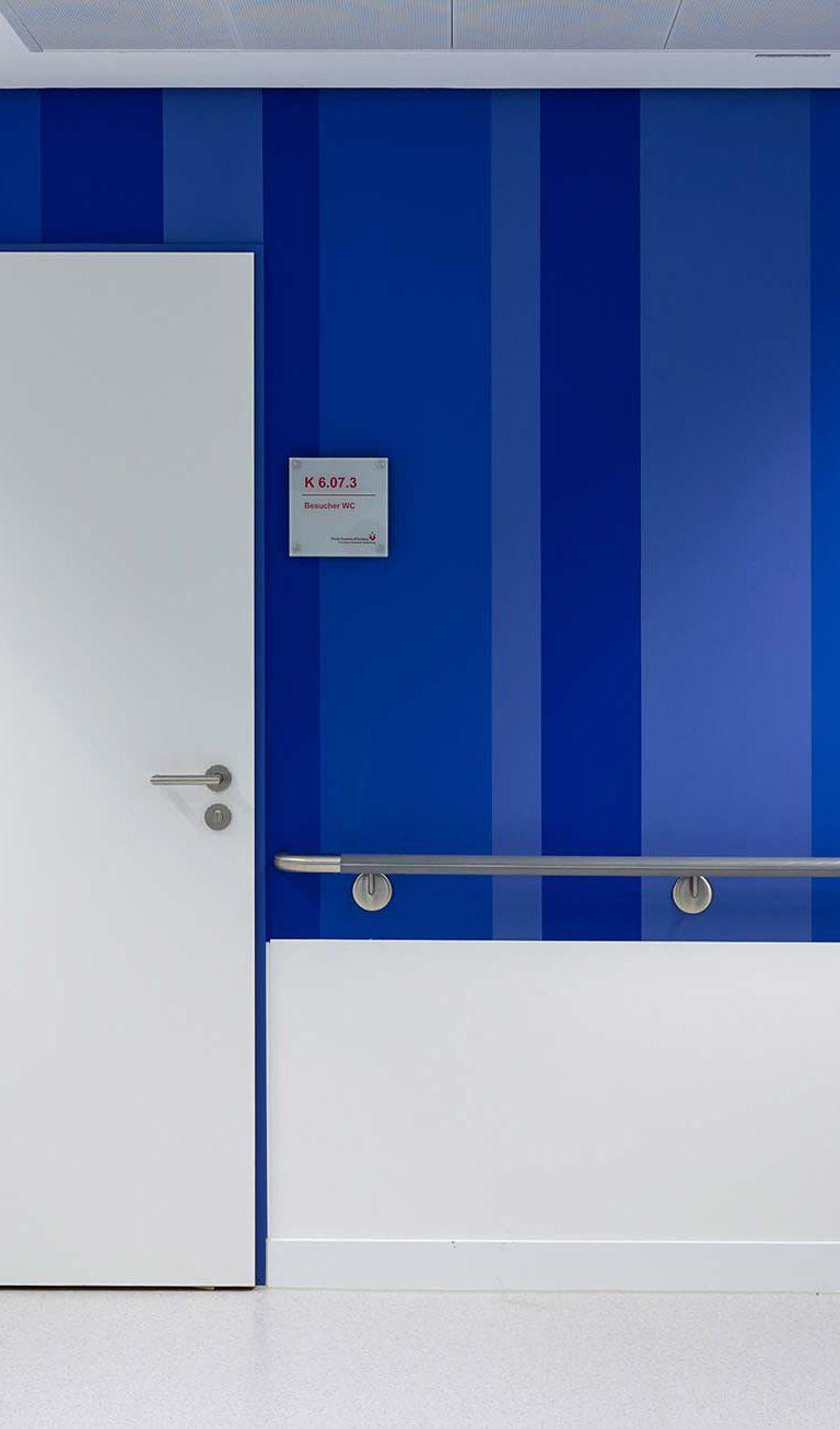 Bild eines Details aus dem Franziskus Hospital Harderberg