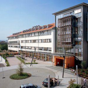 Bild des Funktionstraktes am Marienhospitals Osnabrück