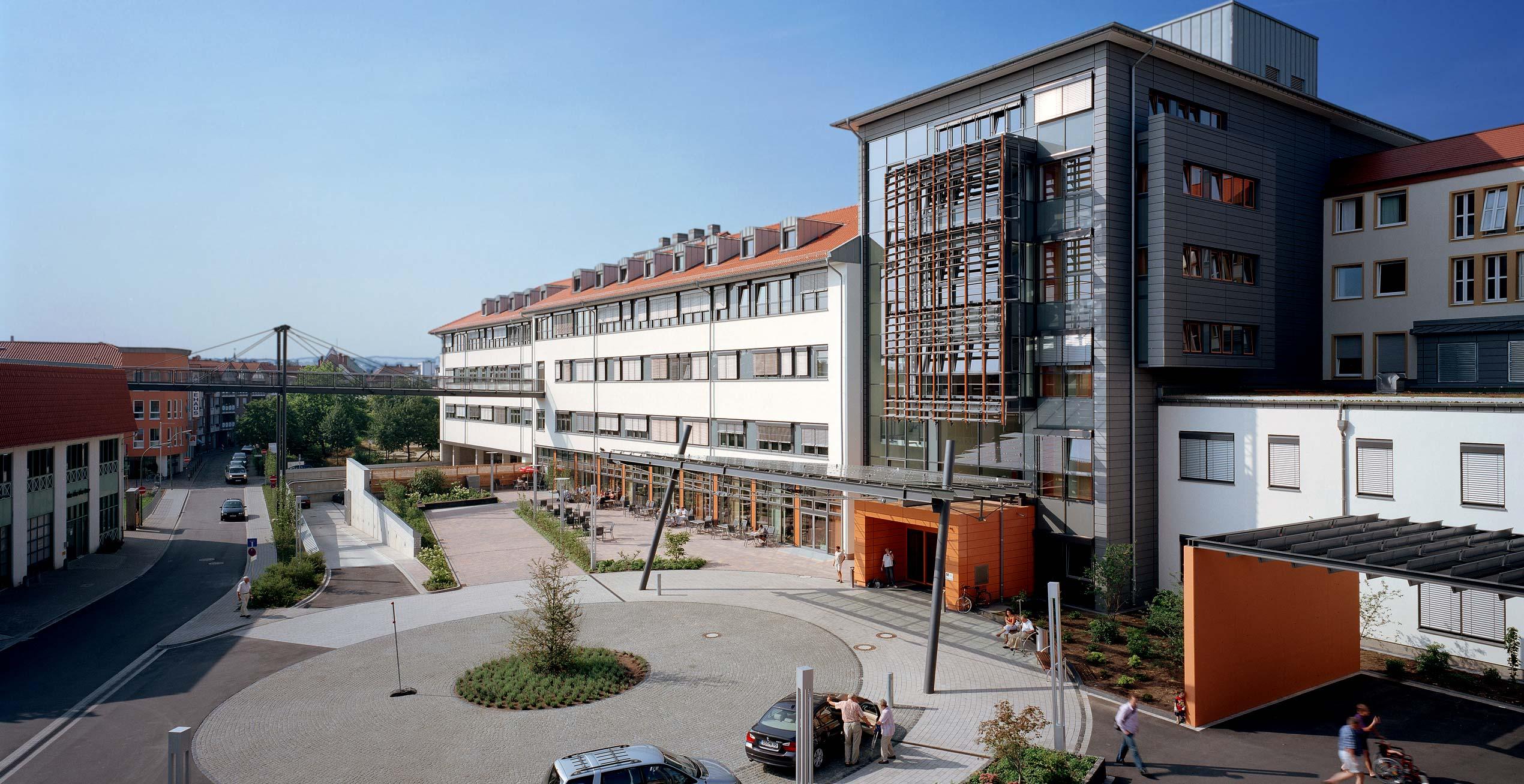 Bild des Funktionstraktes Marienhospital Osnabrück
